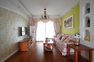 地中海风格简约两室两厅装修效果图赏析