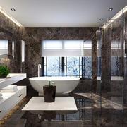 后现代风格大户型卫生间整体设计效果图