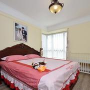 8平米简欧风格女生卧室装修效果图