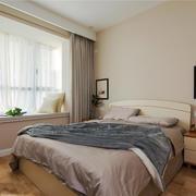 现代简约风格女生卧室带飘窗装修效果图赏析