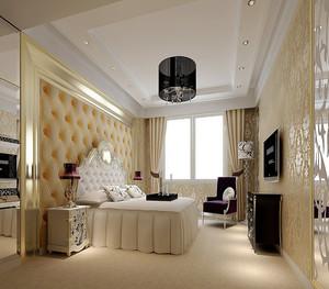 20平米简欧风格卧室天花装修效果图