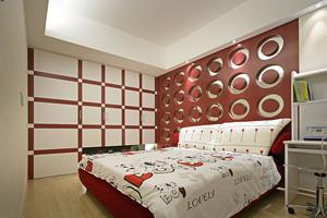 后现代简约风格178平米三室两厅一卫装修效果图