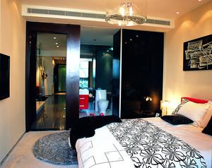现代轻奢主义风格一室一厅装修效果图赏析