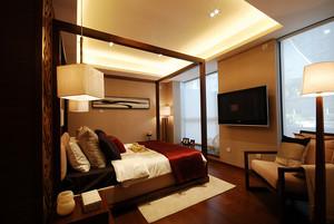 现代中式风格典雅精致大户型室内装修效果图赏析