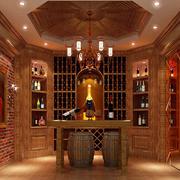 15平米古典欧式风格酒柜设计效果图赏析