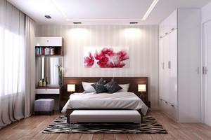 15平米简约风格卧室装修效果图赏析