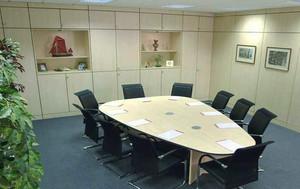 50平米现代风格会议室装修效果图鉴赏