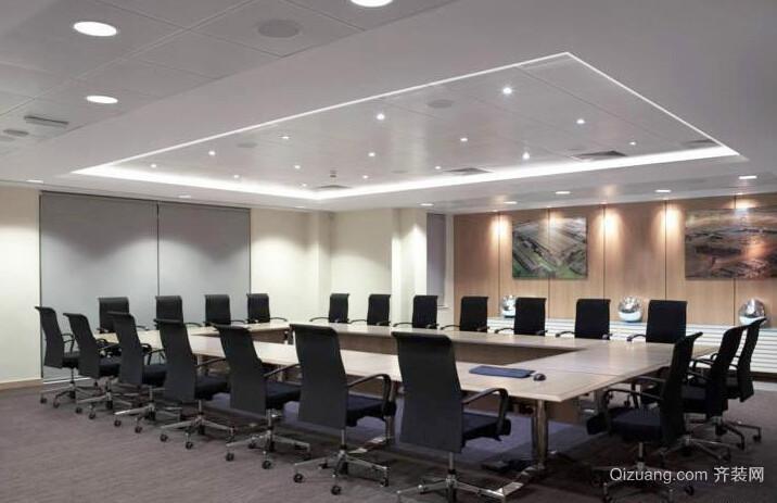 75平米现代风格办公楼会议室装修效果图赏析