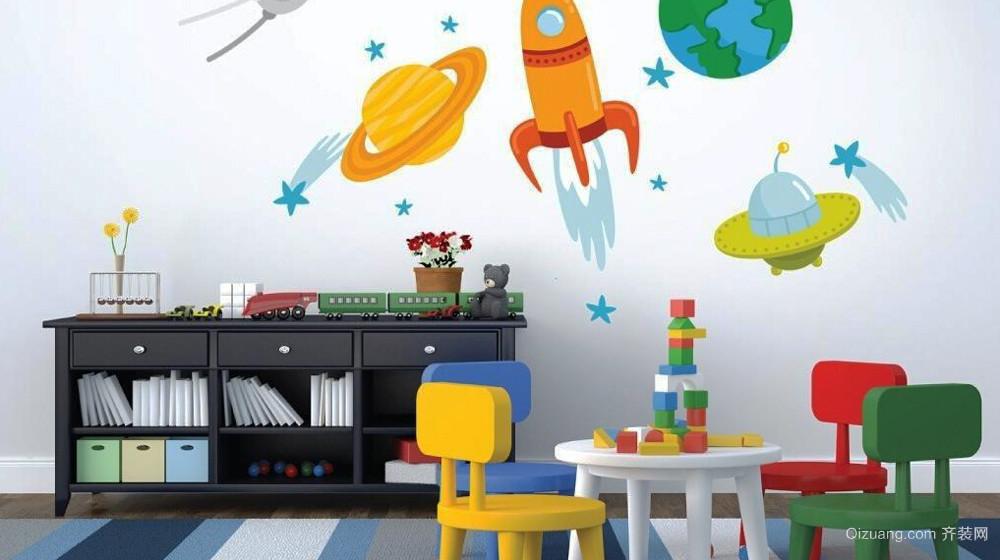 200平米现代风格幼儿园装修效果图赏析
