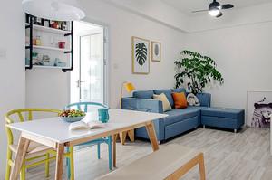 北欧风格女生公寓室内装修效果图鉴赏