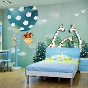 105平米现代简约风格儿童房贴纸效果图赏析