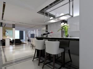 后现代风格四居室餐厅吊顶效果图赏析