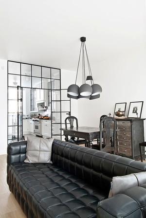 后现代风格男生公寓客厅装修效果图赏析