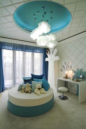 简欧风格三居室儿童房装修效果图赏析