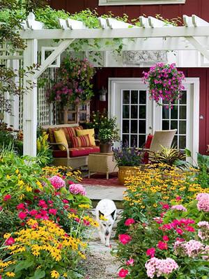 现代风格别墅花园设计效果图鉴赏