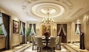 欧式风格别墅餐厅装修效果图赏析