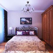 欧式风格一居室卧室衣柜效果图赏析