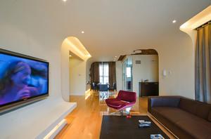 115平米现代风格室内装修效果图赏析
