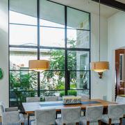 130平米现代简约风格餐厅装修效果图赏析