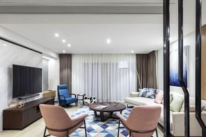 现代简约风格二居室室内装修效果图赏析