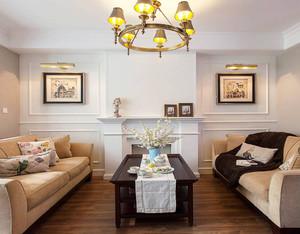 现代简约美式风格别墅室内装修效果图赏析