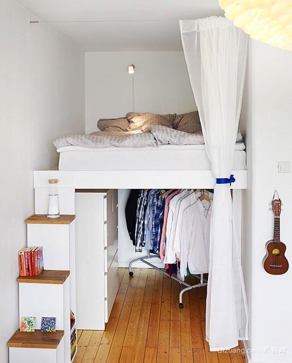现代简约风格跃层卧室装修效果图赏析