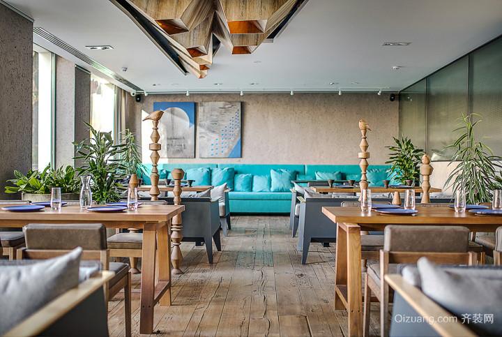 98平米现代风格餐厅装修效果图鉴赏