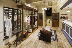 60平米现代风格服装店装修效果图赏析