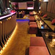 135平米现代风格酒吧装修效果图赏析