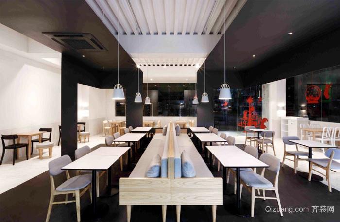 100平米现代风格咖啡厅装修效果图鉴赏