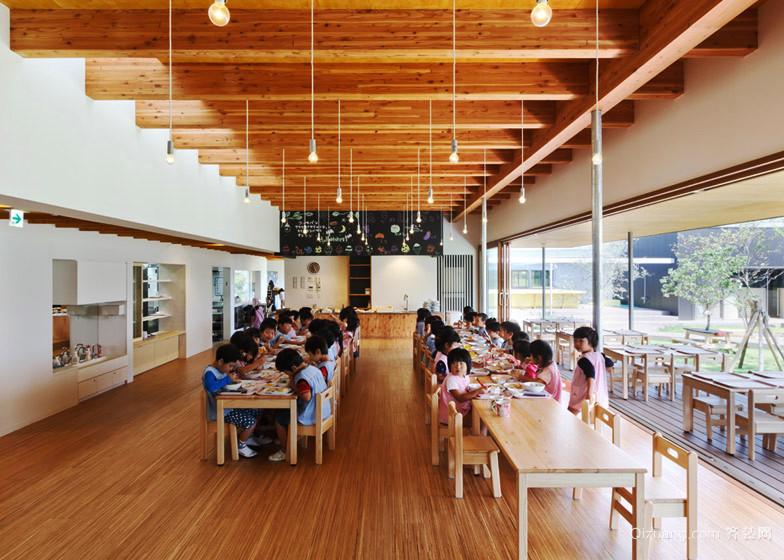 160平米现代风格幼儿园教室装修效果图鉴赏