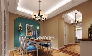 地中海风格三居室餐厅装修效果图赏析