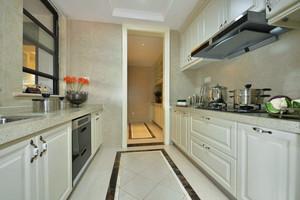 127平米简欧风格厨房装修效果图赏析