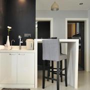 10平米后现代风格客厅洗漱间装修效果图