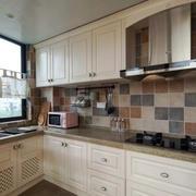 16平米美式风格厨房装修效果图赏析