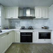 155平米欧式风格厨房橱柜效果图赏析
