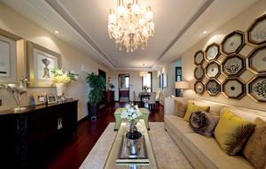 欧式风格两居室室内装修效果图赏析