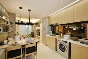 现代简约风格三居室厨房装修效果图赏析