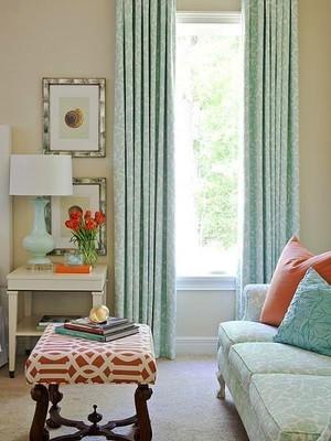 宜家风格一居室客厅窗帘效果图赏析