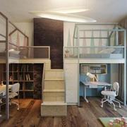 现代风格跃层儿童房装修效果图赏析