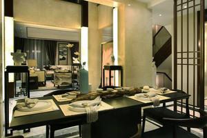 32平米中式风格餐厅装修效果图鉴赏