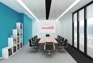 53平米现代风格会议室装修效果图赏析