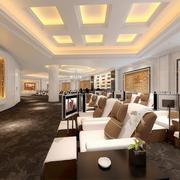 246平米现代风格美容院装修效果图鉴赏
