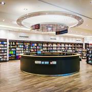 155平米现代风格书店装修效果图赏析