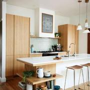 北欧风格一居室开放式厨房装修效果图赏析