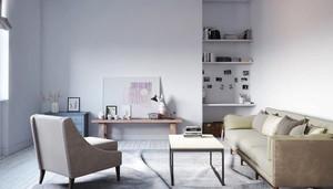 北欧风格女生公寓室内装修效果图赏析