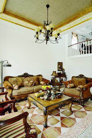 地中海混搭风格别墅室内装修效果图赏析