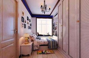 地中海风格二居室卧室吊顶设计效果图赏析