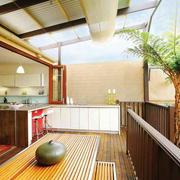 东南亚风格别墅阳台装修效果图赏析