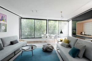 都市小清新风格单身公寓室内装修效果图鉴赏